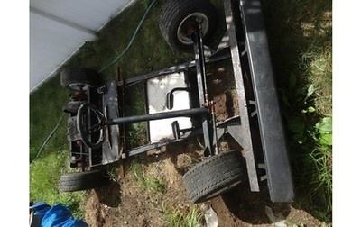 Large Commercial Track racing Go-Kart Frame find me at www.dandeepop.com