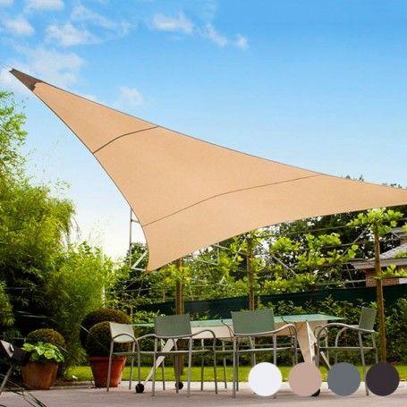 Die besten 25+ Segel schatten Ideen auf Pinterest Outdoor - vorteile sonnensegel terrasse