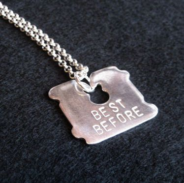 Best Before Pendant by Genevieve Packer | Clever Bastards