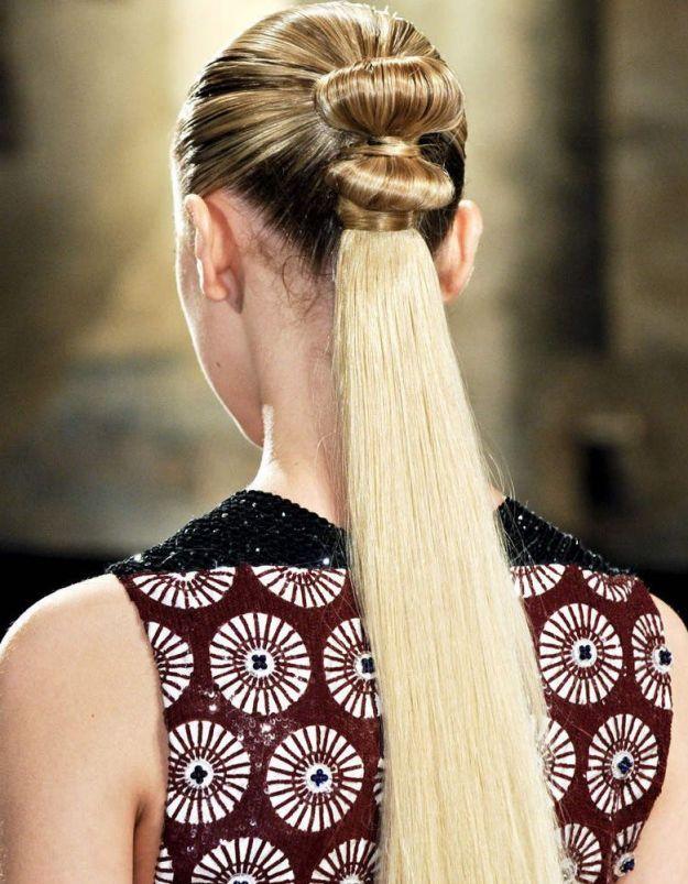 Модный конский хвост на 1 сентября ::: onelady.ru ::: #hair #hairs #hairstyle…