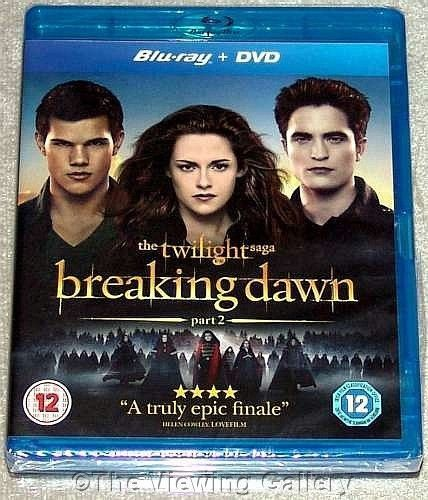 The TWILIGHT SAGA - BREAKING DAWN Part 2 BLU-RAY & DVD combo REGION B sealed NEW