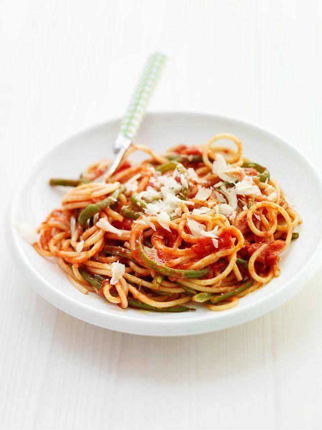 spaghetti met tomaat en haricots verts | ZTRDG magazine