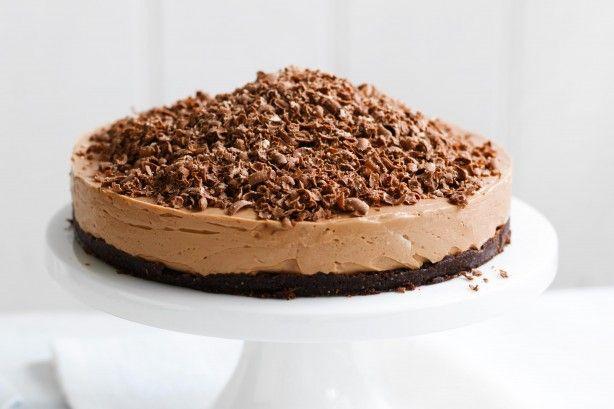 Mmm! Toblerone cheesecake
