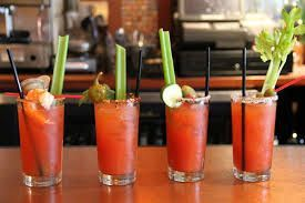 Bright red color... #BloodyMary