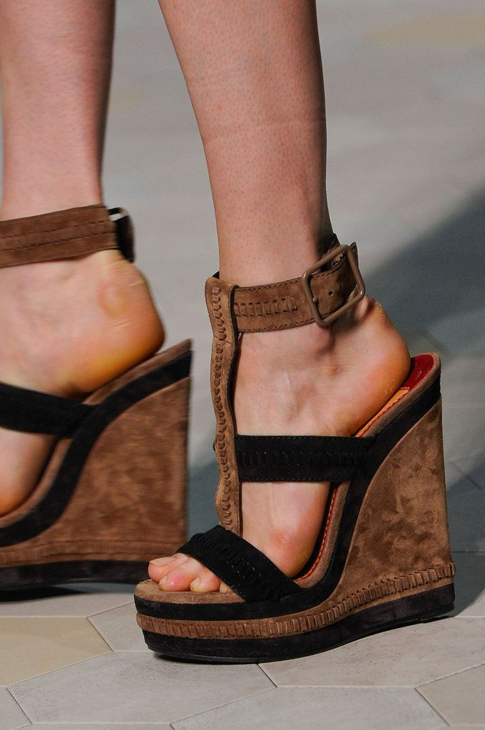 Spring/ Summer 2013 Shoe Trends - Leather, Patent Leather and Suede Shoes