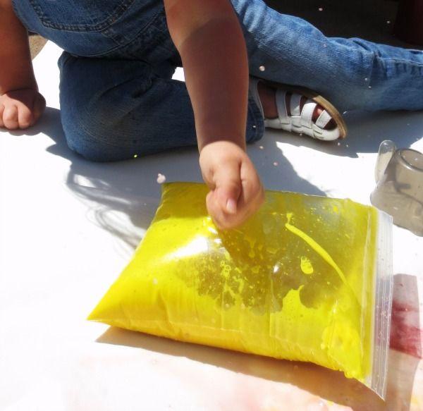 Exploding Art- Paint Bags