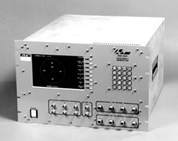 The RGS 2000 TCAS Reply Generator is a self-contained RF Test Station designed to be a complete RF resource for the testing of TCAS (Traffic Alert and Collision Avoidance System) computers.