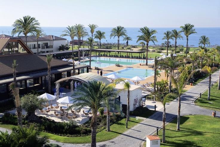 Preciosas vista del Robinson Club en Playa Granada
