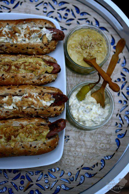 Los mejores perritos calientes gourmet caseros tererecetas 03