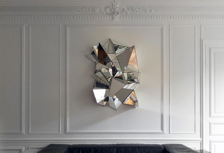 Mathias Kiss: Mirror, Wall Art, Bedrooms Interiors Design, Mathia Kiss, Hotels Interiors, Art Design, Design Bedrooms, Art Deco, Design Home