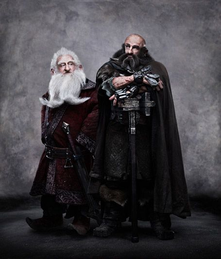 "From ""The Hobbit"":  Balin and Dwalin"
