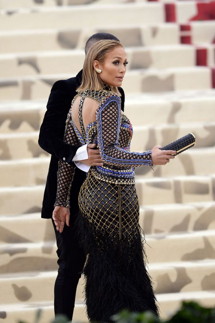 Jennifer Lopez At The 2018 Met Gala In Nyc Fashion