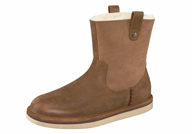 Produkttyp , Stiefel, |Schuhhöhe , Stiefel, |Materialzusammensetzung , Obermaterial: 100% Leder. Obermaterial 2: 100% Lammfell. Decksohle: 100% Lammfell. Laufsohle: 100% Gummi, |Farbe , Chestnut, |Herstellerfarbbezeichnung , chestnut, |Obermaterial , Leder, |Verschlussart , Ohne Verschluss, |Laufsohle , Gummi, profiliert, | ...