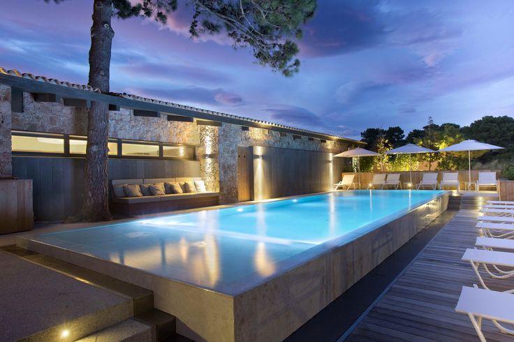 Hotel La Plage by Bodin & Associés Architectes in Corsica, France