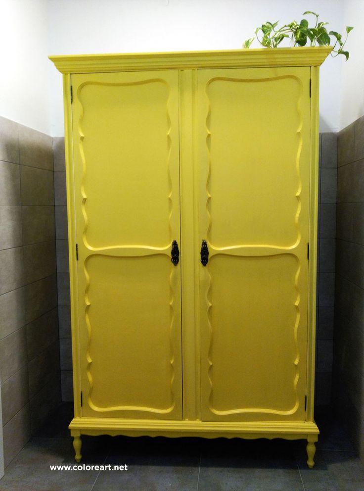 M s de 25 ideas incre bles sobre armario pintado en - Armarios pintados a mano ...