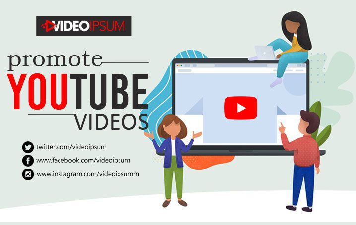 Promote Youtube Videos Of Your Channel And Engage More Audience Video Marketing Youtube Videos Social Sites