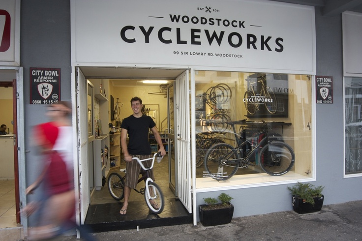 Woodstock Cycleworks has to be the coolest neighbourhood bicycle shop in Cape Town.