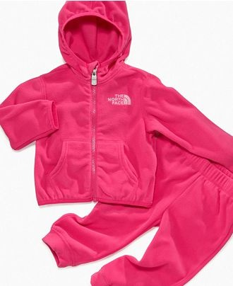 A North Face sweat suit, for those little winter baby girls