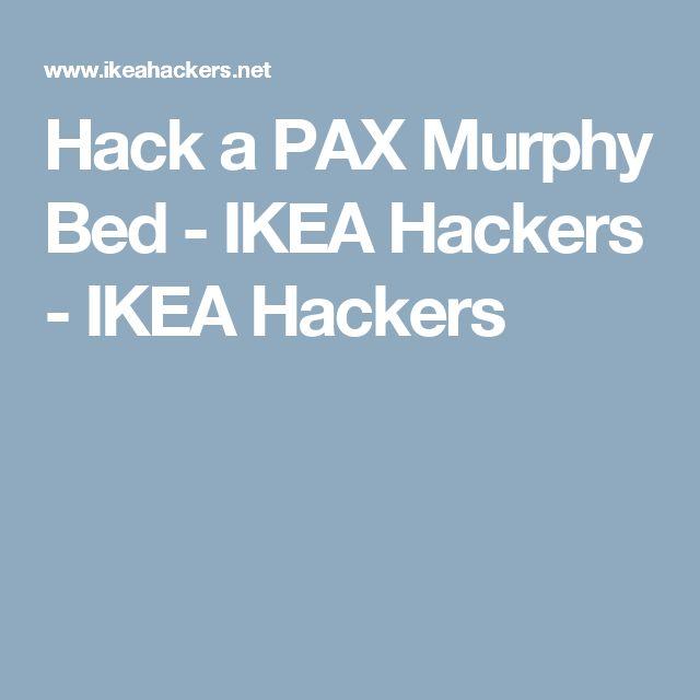 hack a pax murphy bed ikea hackers ikea hackers - Murphy Bed Ikea
