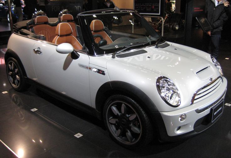 Mini Convertible .... I miss my Mini - mine was a one - not a Cooper.