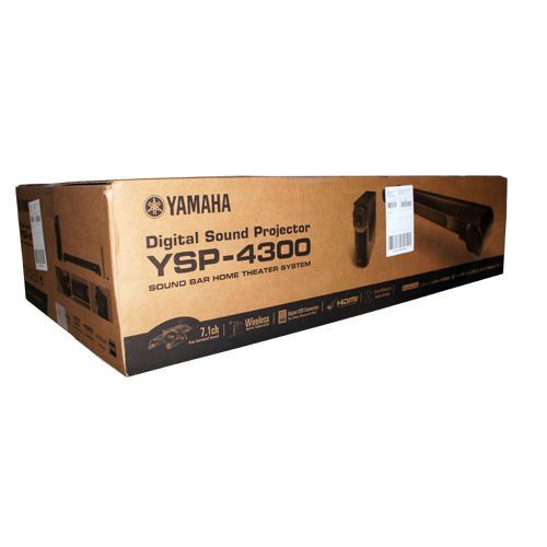 Yamaha Digital Sound Projector System Wireless Subwoofer Soundbar Ysp-4300 New