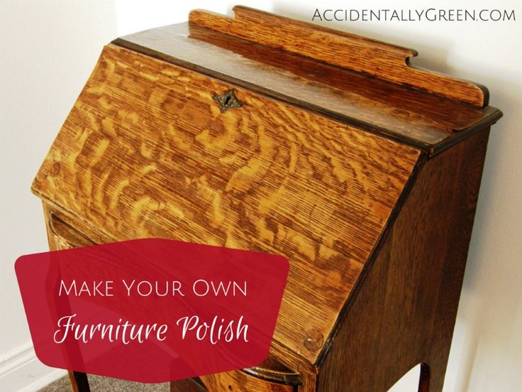 17 best ideas about homemade furniture polish on pinterest Best wood furniture cleaner