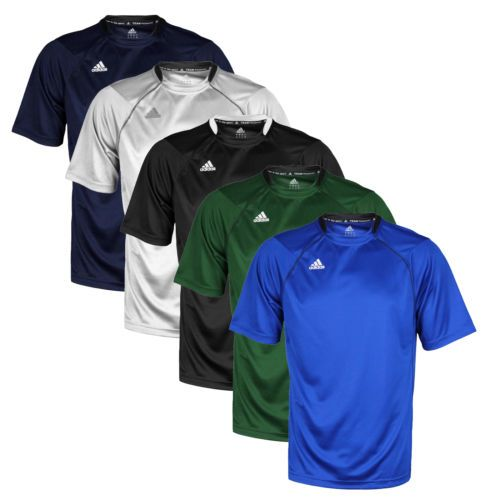 5055c81d Activewear Tops 185076: Adidas Mens Climalite Team Performance Athletic  Lightweight T-Shirt Tee Shirt -> BUY IT NOW ONLY: $12.95 on #eBay  #activewear ...