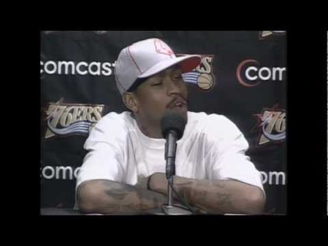 Must watch Don Trip fans Original Allen Iverson Practice Rant
