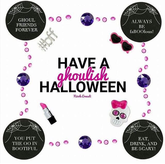 {Halloween Collection} 2015 Origami Owl www.kellib.origamiowl.com