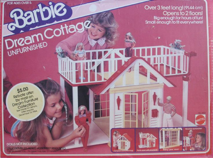 Amazon com  Vintage BARBIE DREAM COTTAGE Doll HOUSE Unfurnished w SUN DECK  2 Floors. 17 Best images about My Barbie house  on Pinterest   Barbie house