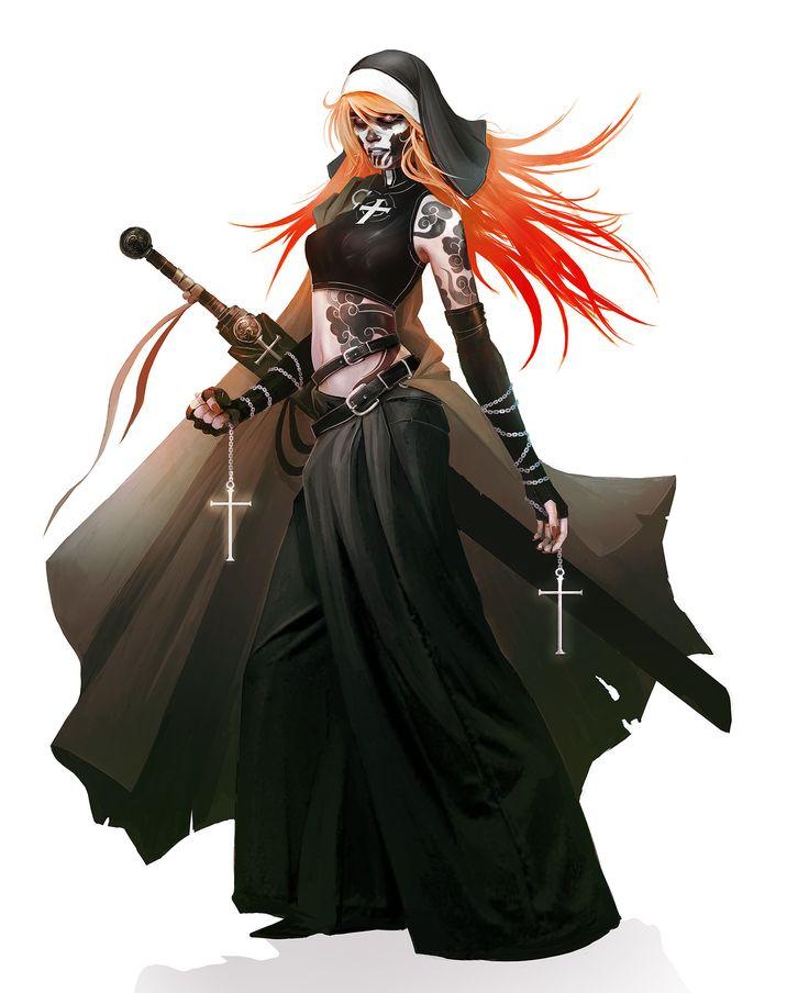 ArtStation - Sister Abygael - Wild Wild Vampires, Alexandre Chaudret