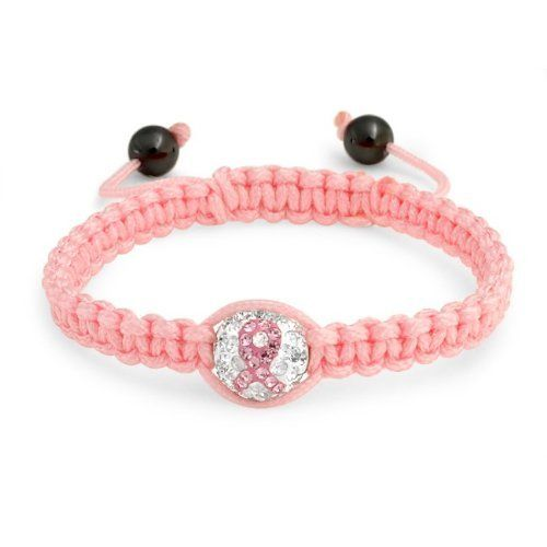 Valentines Day Gifts Bling Jewelry Pink Breast Cancer Ribbon Crystal Shamballa Inspired Bracelet 12mm Bling Jewelry. Save 55 Off!. $9.99. Crystal beads, nylon cording. Pink colored Shamballa inspired bracelet. Weighs 7 grams. 7.5 to 9 inch adjustable. 12mm beads