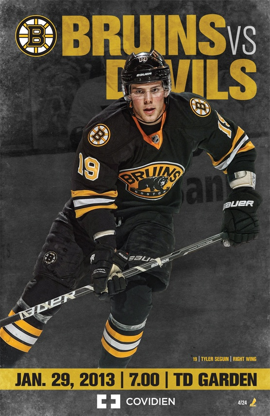 Bruins vs Devils | Jan. 29, 2013 | 4/24