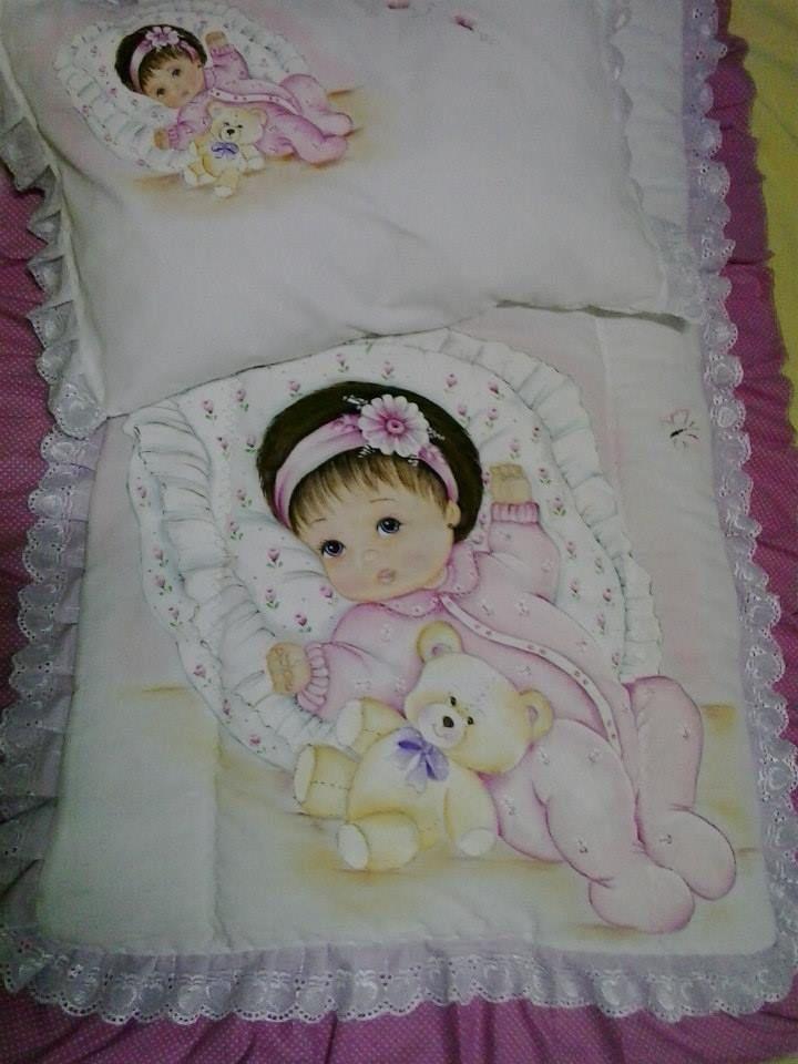 Mais de 1000 ideias sobre pintura em tecido infantil no - Pintura en tela motivos navidenos ...