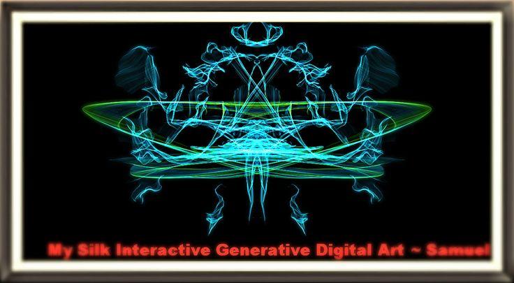 https://flic.kr/p/t69pn2 | My Digital Silk Interactive Generative Art - Completed Artwork Sample 2 | My Digital Silk Interactive Generative Art  - Samuel