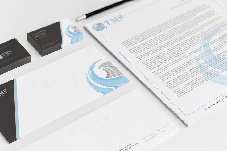 Logo Design & Business Card Design for TMS
