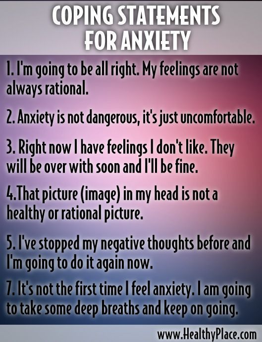 Image result for coping statements