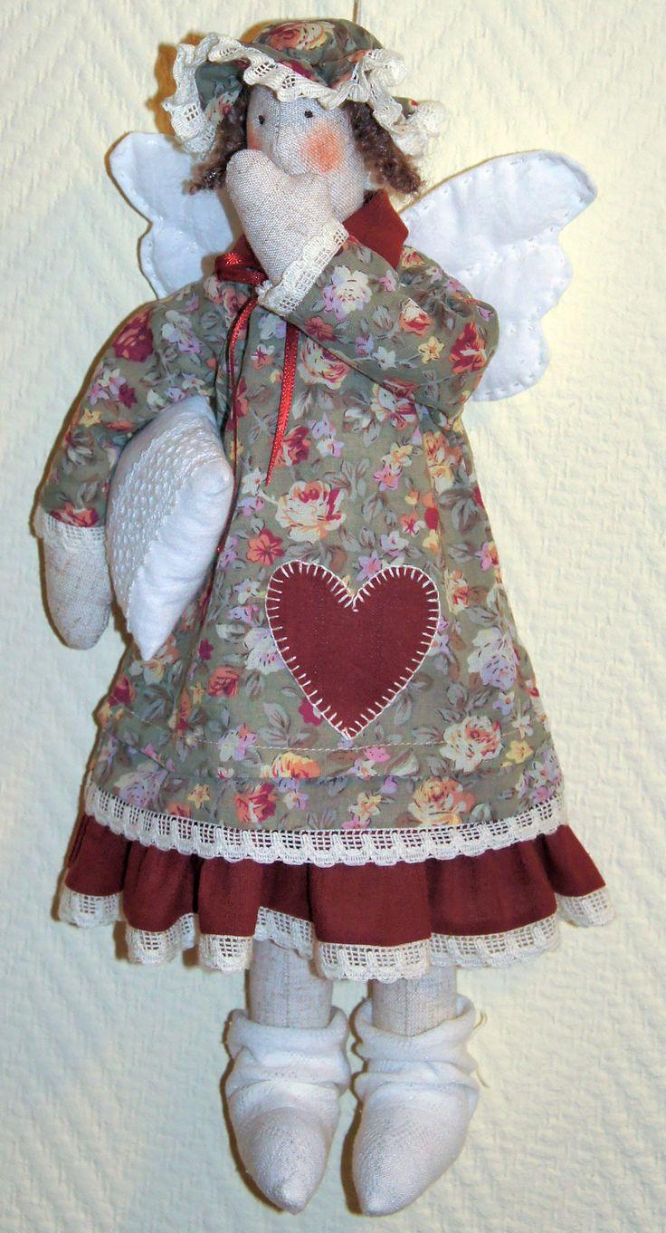 Кукла текстильная ручная работа   Тильда Бабушкина сплюшка  Fiva