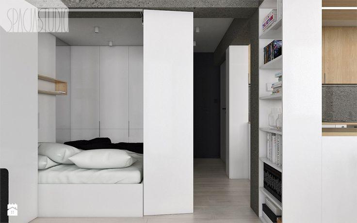 Sypialnia styl Minimalistyczny - zdjęcie od Spacja Studio - Sypialnia - Styl Minimalistyczny - Spacja Studio