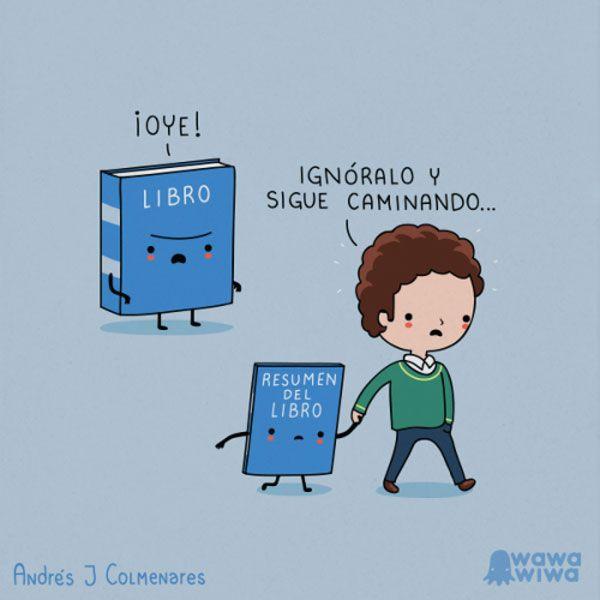 Ignora al libro. #humor #risa #graciosas #chistosas #divertidas