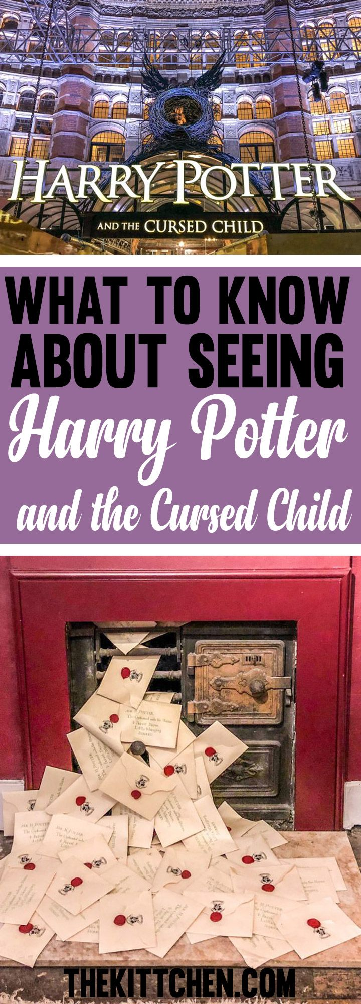 Without giving anything away, I help you be prepared to see this magnificent show. #harrypotter #london  ********** Harry Potter | Harry Potter and the Cursed Child | Things to do in London | London travel | Europe travel | UK travel | London shows