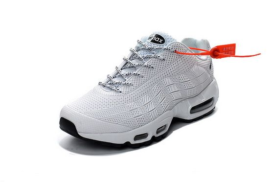 new products c0c9c bd6fd Nike Air Max 95 Id Kup All White Shoe Fit Sneaker