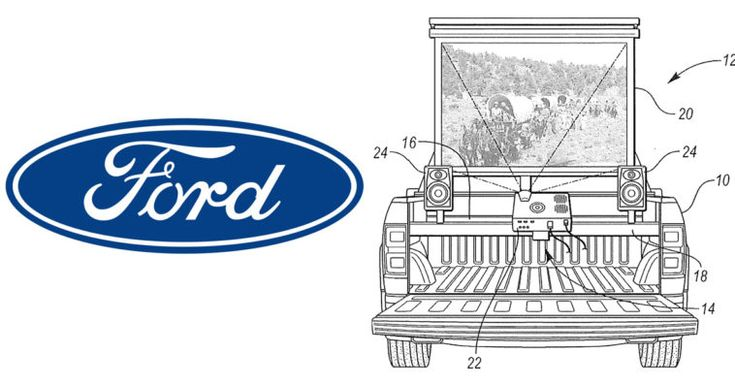 Ford suggests a way to transform your pickup truck into a movie theater.  #geek ...