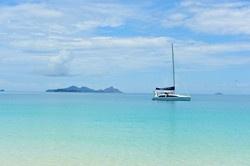 Bareboat charter, Whitsunday islands, Great Barrier Reef. Still on my bucket list.