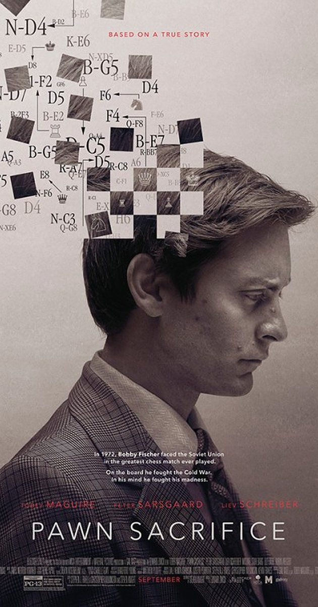 Directed by Edward Zwick.  With Liev Schreiber, Lily Rabe, Tobey Maguire, Peter Sarsgaard. American chess champion Bobby Fischer prepares for a legendary match-up against Russian Boris Spassky.