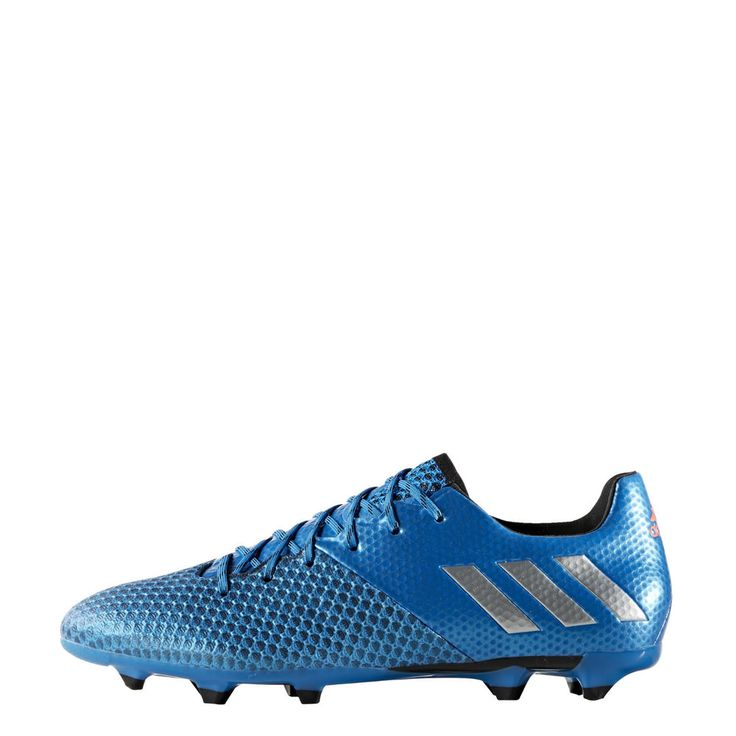 Adidas Messi Shoes Men 16.2 FG Football Soccer Cleats Boots Shock Blue AQ3111