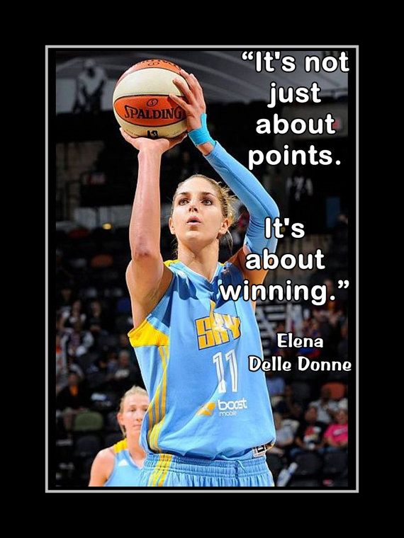 Elena Delle Donne Chicago Sky Delaware by ArleyArtEmporium on Etsy, $11.99
