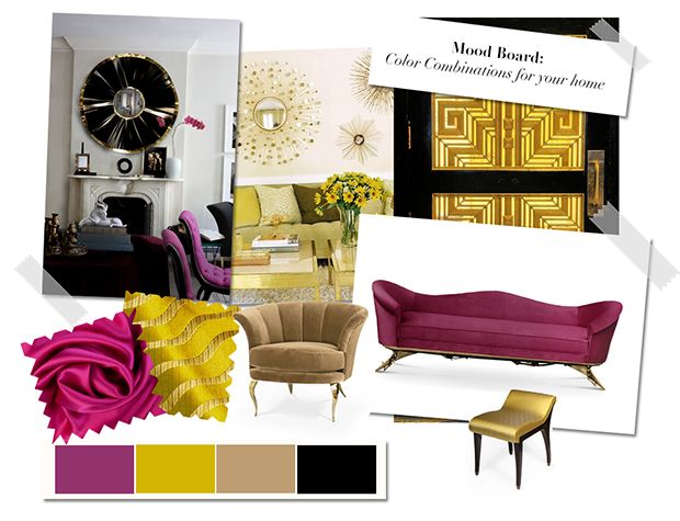 Mood Board: Color Combinations For Your Home