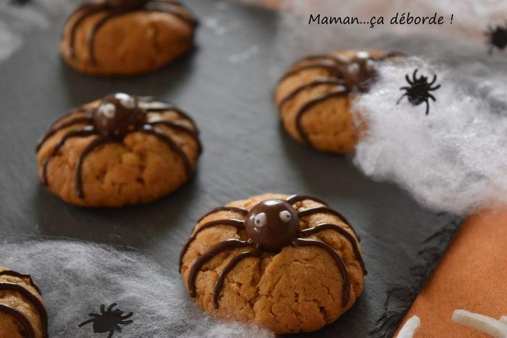 Cookies araignées (Halloween)