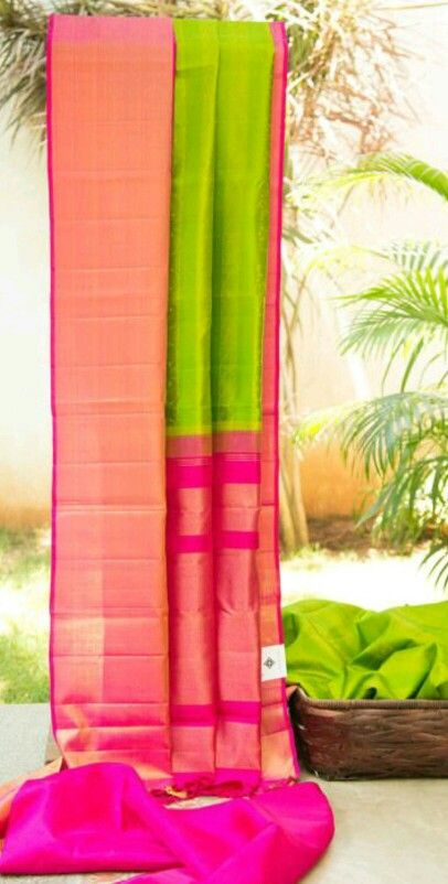 Lovely morning wear sari!